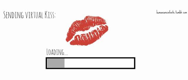 Virtual Kiss Gifs Tenor