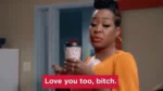 Yikes Love You Too Bitch GIF - Yikes LoveYouTooBitch GIFs