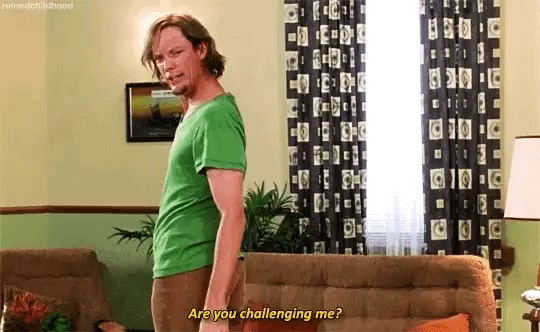 Shaggy Are You Challenging Me Gif Shaggy Areyouchallengingme Scooby Discover Share Gifs Intelligence doesn't make you an admirable person; shaggy are you challenging me gif shaggy areyouchallengingme scooby discover share gifs