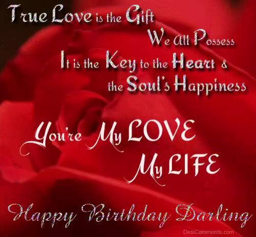 Happy Birthday My Love GIFs