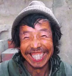 funny ugly person