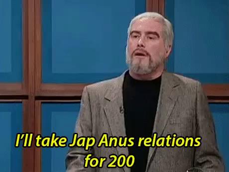 Jap anus realations