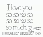 ILove You So Much IReally GIF - ILoveYouSoMuch IReally HeReallyDoes GIFs