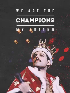 We Are The Champions GIFs   Te...