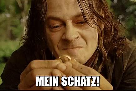 Smeagol Mein Schatz Gif Meinschatz Smeagol Gollum Discover Share Gifs