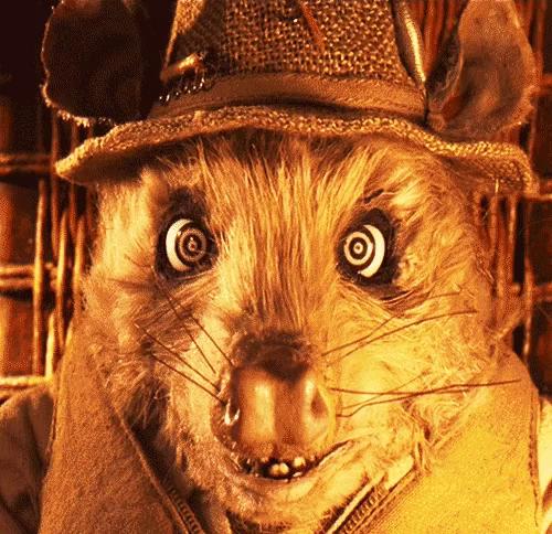 Fantastic Mr Fox Possum Eyes Gifs Tenor