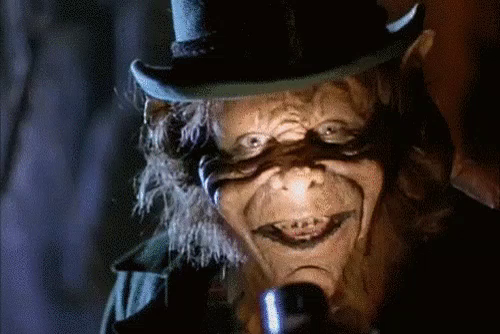 Leprechaun Horror GIF - Leprechaun Horror Creepy - Discover & Share GIFs