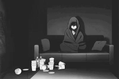 Boy lonely anime 38+ Anime