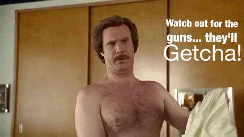 Ron Burgundy Working Out Gifs Tenor