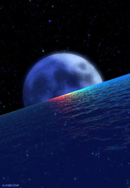 moon and stars gifs tenor