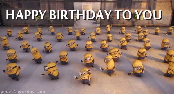Happy Birthday Minions Gifs Tenor