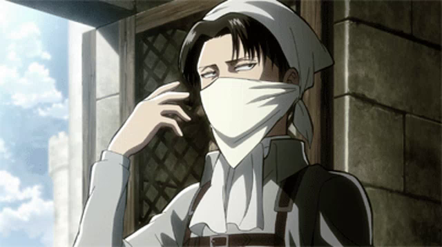 Levi Cleaning Gifs Tenor
