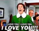Elf Will Ferrell GIF - Elf WillFerrell ILY GIFs