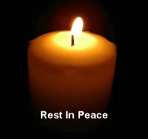 Rest In Peace Gif Rip Candle 安息 Discover Share Gifs