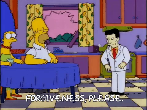 Forgiveness Please The Simpsons GIF - Forgiveness Please The Simpsons Beg -  Discover & Share GIFs