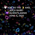 ILove You To The Moon And Back Love Always Annie GIF - ILoveYouToTheMoonAndBack LoveAlwaysAnnie Hearts GIFs