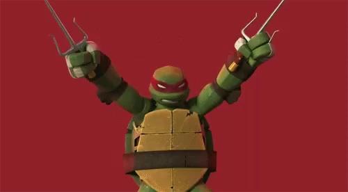 Teenage Mutant Ninja Turtles Leo And Raph Gifs Tenor