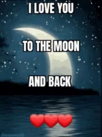 ILove You To The Moon And Back GIF - ILoveYou ToTheMoonAndBack Moon GIFs