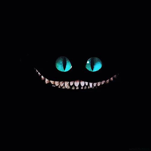 Cheshire Cat Smile Gifs Tenor