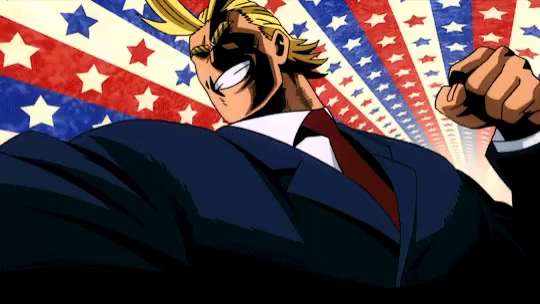 All Might Gifs Tenor