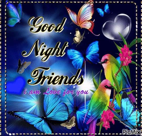 Good Night Friends Gifs Tenor