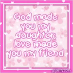 God You Made My Daughter GIF - God YouMadeMyDaughter LoveMadeYouMyFriend GIFs