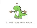 Love Rex GIF - Love Rex Iloveyouthismuch GIFs