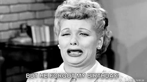 I Love Lucy Birthday Gifs Tenor