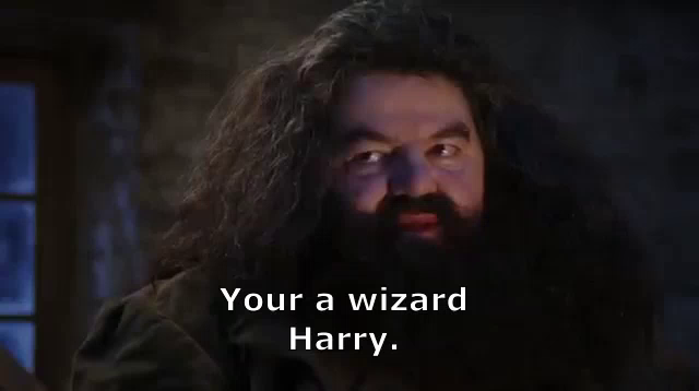 Your A Wizard Harry GIFs