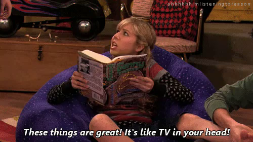 It's Like TV In Your Head GIF - ICarly JennetterMcCurdy SamPuckett ...
