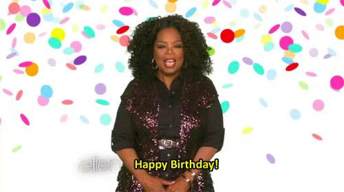oprah birthday Oprah Happy Birthday GIFs   Tenor oprah birthday