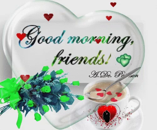 Good Morning Friends Gifs Tenor