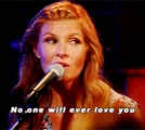 No One Will Ever Love You Sing GIF - NoOneWillEverLoveYou Sing Look GIFs