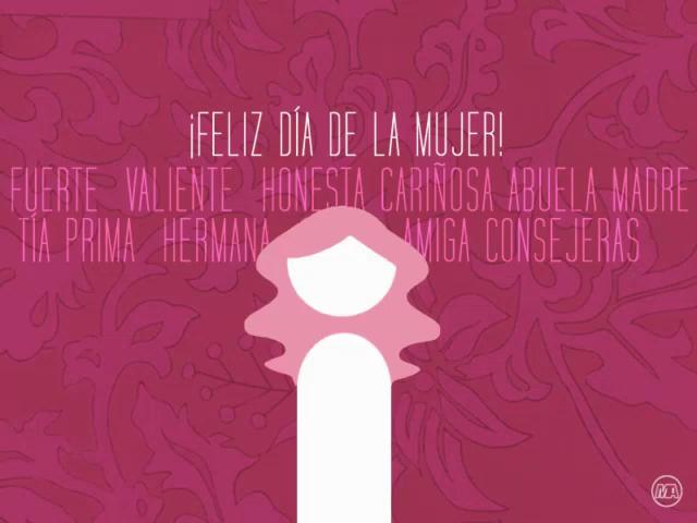 Feliz Día Internacional De La Mujer Gif Felizdiadelamujer