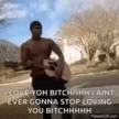 Love You Bitch IAint Gonna Stop Loving You GIF - LoveYouBitch IAintGonnaStopLovingYou Pointing GIFs