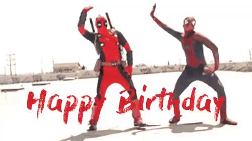 raw super hero birthday gif happybirthday dance whip discover