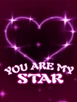 You Are My Star Heart GIF - YouAreMyStar Heart Love GIFs