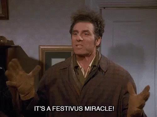 Its A Christmas Miracle.Its A Christmas Miracle Gifs Tenor