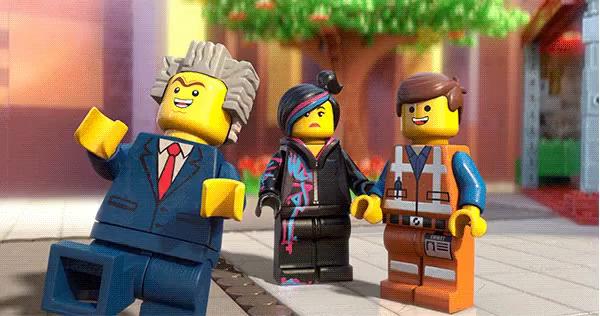 Happy Birthday Lego Movie Gifs Tenor