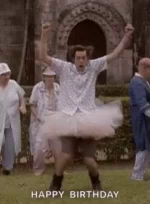 Dance Happy Birthday GIF - Dance HappyBirthday JimCarrey GIFs