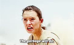 Star Wars The Garbage Will Do GIF - StarWars TheGarbageWillDo  MilleniumFalcon - Discover & Share GIFs