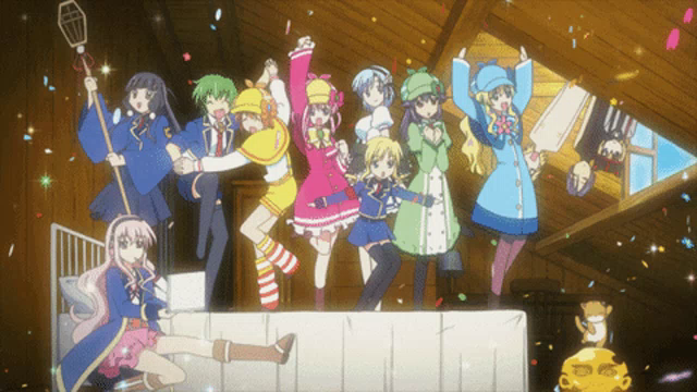 Celebration Anime GIF - Celebration Anime Dancing - Discover & Share GIFs