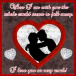 When IAm With You The Whole World Seems To Fall Away GIF - WhenIAmWithYou TheWholeWorldSeemsToFallAway ILoveYouSoVeryMuch GIFs