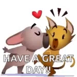 Kisses Have AGreat Day GIF - Kisses HaveAGreatDay Kiss GIFs