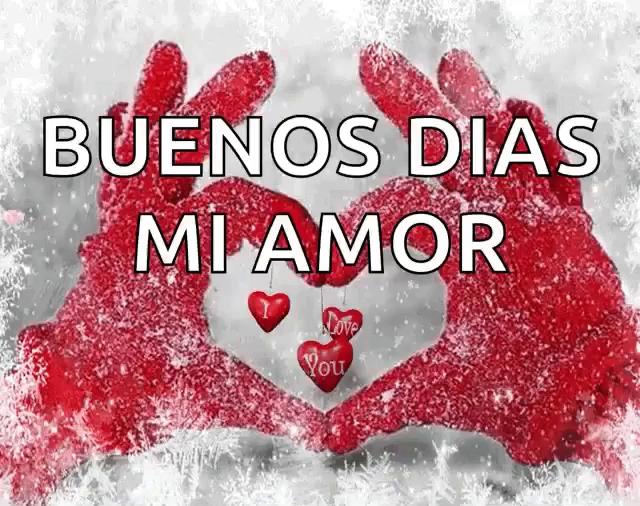 Buenos Dias Mi Amor Gifs Tenor