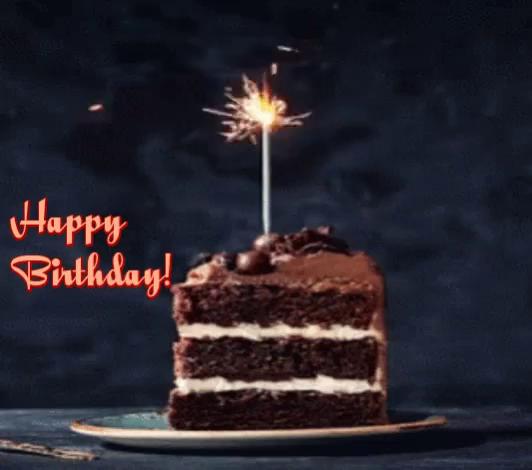 Astounding Animated Birthday Cake Pictures Gifs Tenor Personalised Birthday Cards Veneteletsinfo