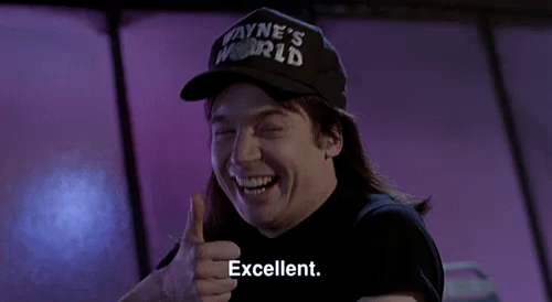 Waynes World Excellent GIFs | Tenor