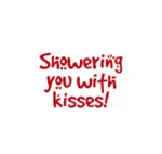 Love Showering You With Kisses GIF - Love ShoweringYouWithKisses Mwuah GIFs