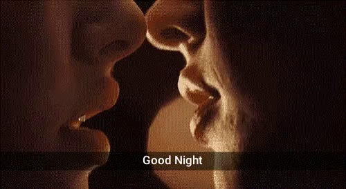 Good Night Kiss Gifs Tenor
