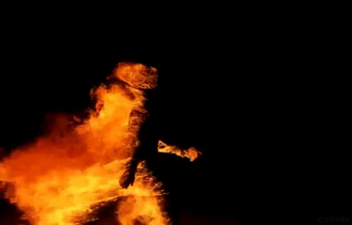 The Walking Flame